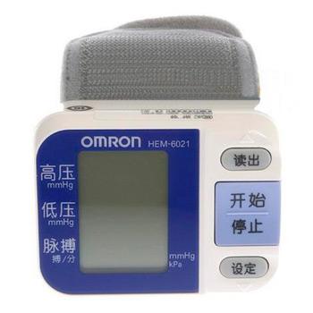 歐姆龍電子血壓計HEM-6021型