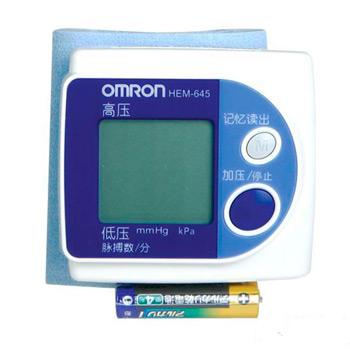 歐姆龍電子血壓計HEM-645型