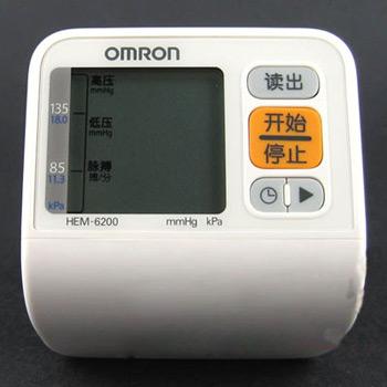 歐姆龍電子血壓計HEM-6200型