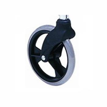上海互邦輪椅車配件:8寸小輪前叉8寸