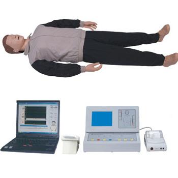 大屏幕液晶彩显高级自动电脑心肺复苏模拟人KAR/CPR500S-C