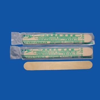 竹制壓舌板