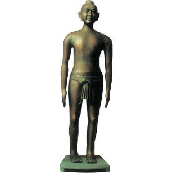 仿古針灸銅人高158cm