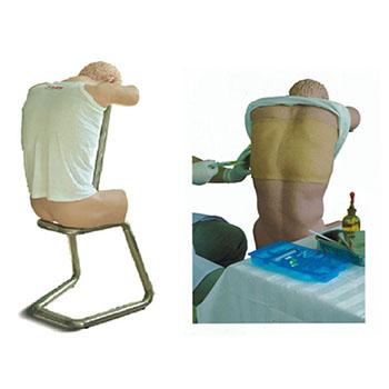 胸腔(背部)穿刺训练模型KAR/CK812