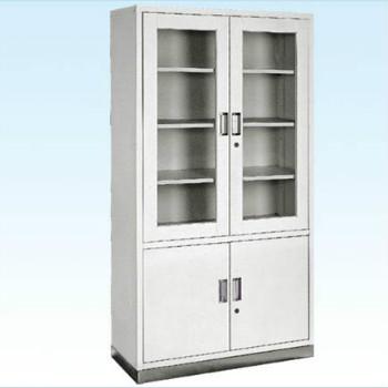 普康器械柜G-18型 不銹鋼底四門