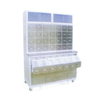 山東育達鋼制噴塑臺式中藥柜C25型