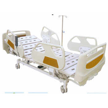 华瑞PE喷塑混合型三摇病床D191
