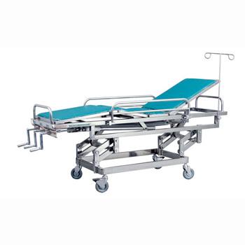 华瑞抢救床(不锈钢抢救床)D261