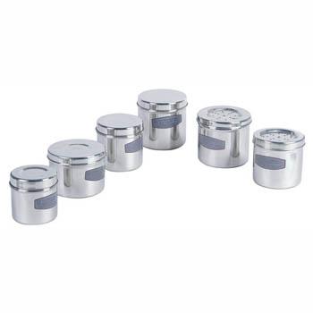 华瑞不锈钢药膏罐(有孔)