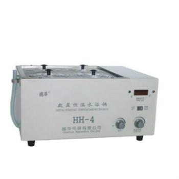 国华恒温循环水浴锅HH-4