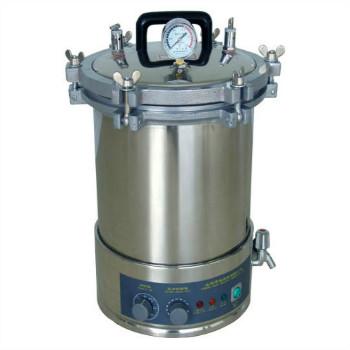 上海博迅不銹鋼煤電手提式壓力蒸汽滅菌器YXQ-LS-18SI