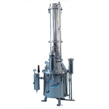 上海三申蒸汽重蒸餾水器TZ100型