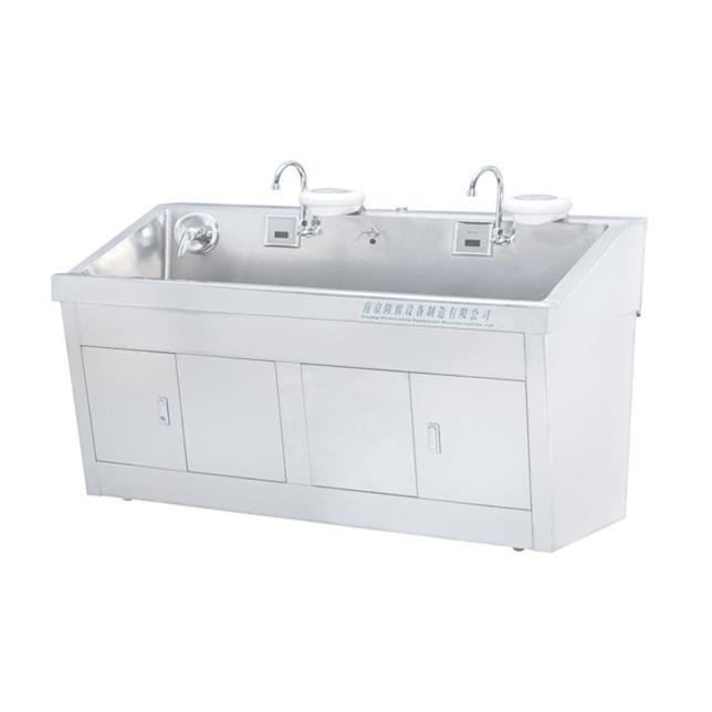 华瑞不锈钢电热自动感应洗手池(普通型)C282