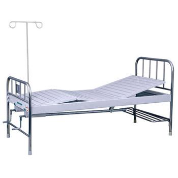 华瑞不锈钢喷塑混合型双摇病床D131
