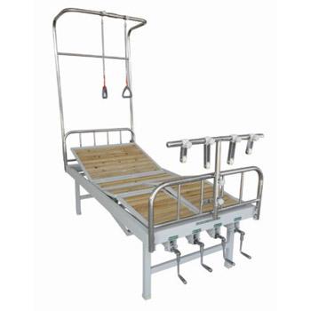 华瑞不锈钢、喷塑混合型悬臂骨科牵引床D301
