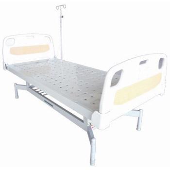 华瑞平板病床(PE床头喷塑平板病床)D031