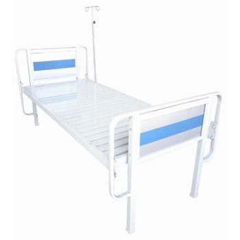 华瑞平板病床(扁管床头喷塑平板病床)D041