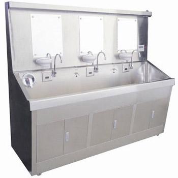 华瑞不锈钢电热自动感应洗手池(豪华型)C291