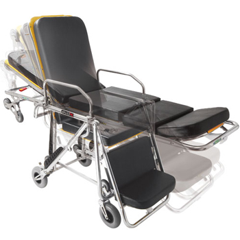 意大利MEBER可折叠椅式上车担架ART.7110、新款7112