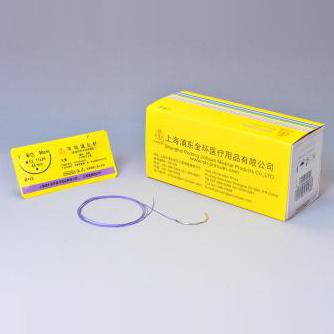 金环带线缝合针双针 H801