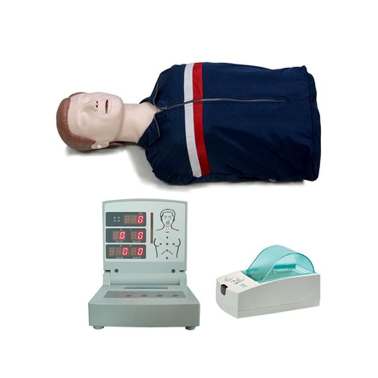 高級電腦半身心肺復蘇模擬人(語音、計數、考核打印)BIX-CPR260