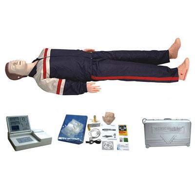 高级中屏幕液晶自动电脑心肺复苏模拟人KAS-CPR590