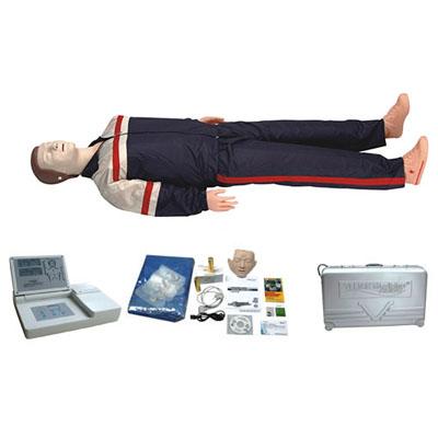 高级移动显示自动电脑心肺复苏模拟人KAS-CPR490
