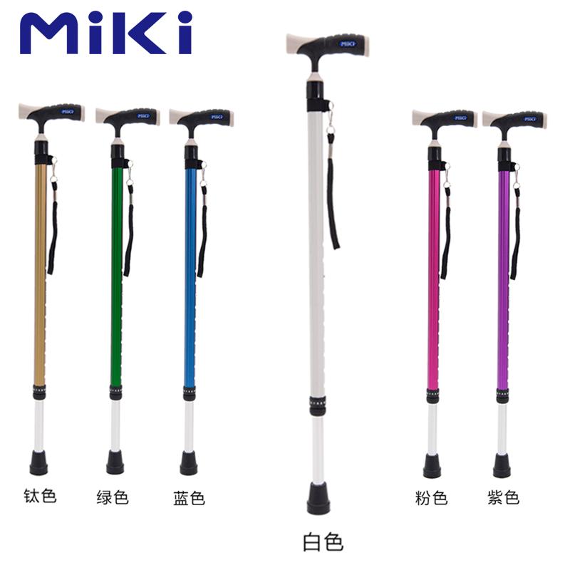 Miki 三贵伸縮拐MRT-013(白色细)