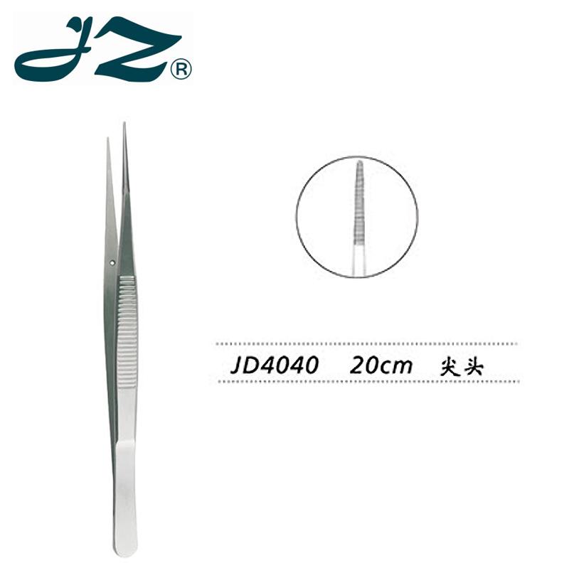 金鐘胸腔鑷JD4040