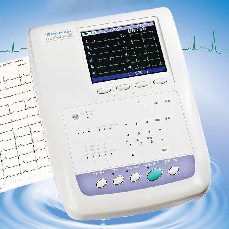 日本光电多道心电图机ECG-1350C