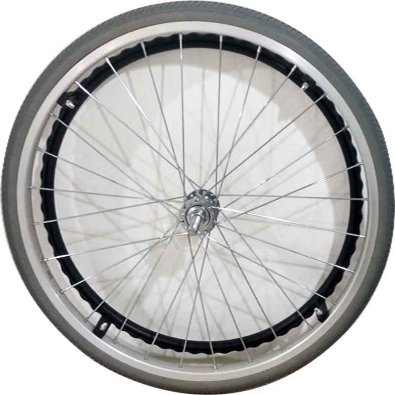 上海互邦輪椅車配件:22寸后輪22寸