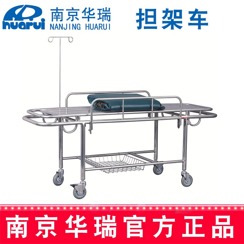 华瑞不锈钢手术车(四小轮)B052